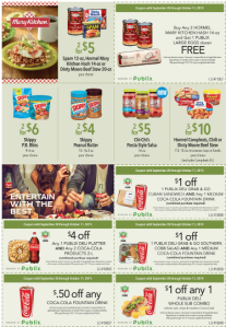 Publix Green Flyer Coupon 9/28-10/11