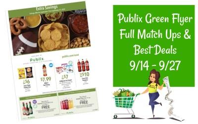 Publix Green Flyer Best Deals 9/14–9/27