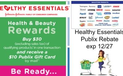 Healthy Essentials Publix Rebate