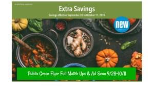 Publix Green Flyer Coupon9/28-10/11