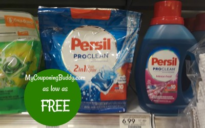 Persil Laundry Detergent as low as free at Publix