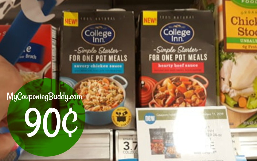College Inn Simple Starters Publix Couponing Deal