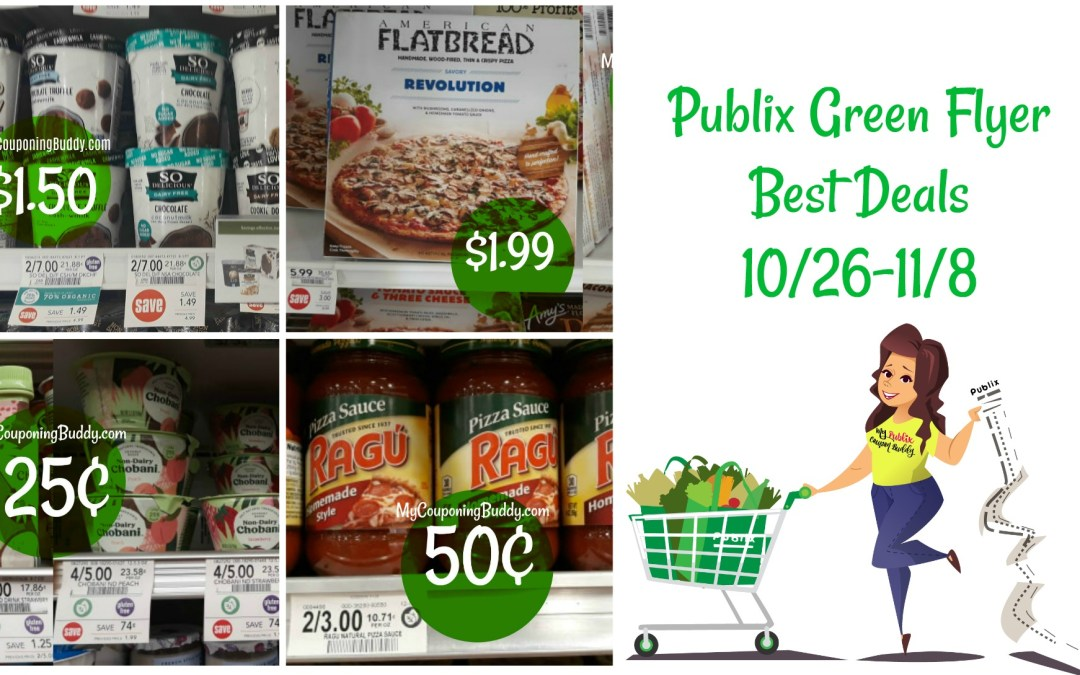 Publix Green Flyer Best Deals 10/26 – 11/8