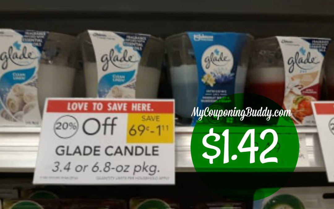Glade Candles $1.42 at Publix