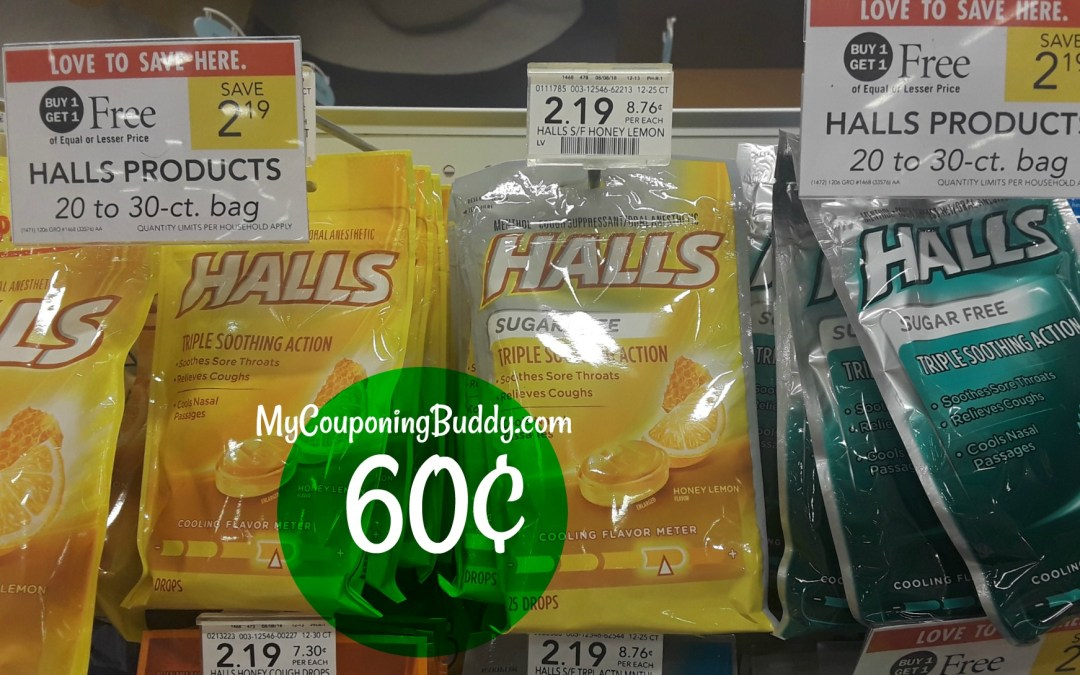 Hall Cough Drops Publix