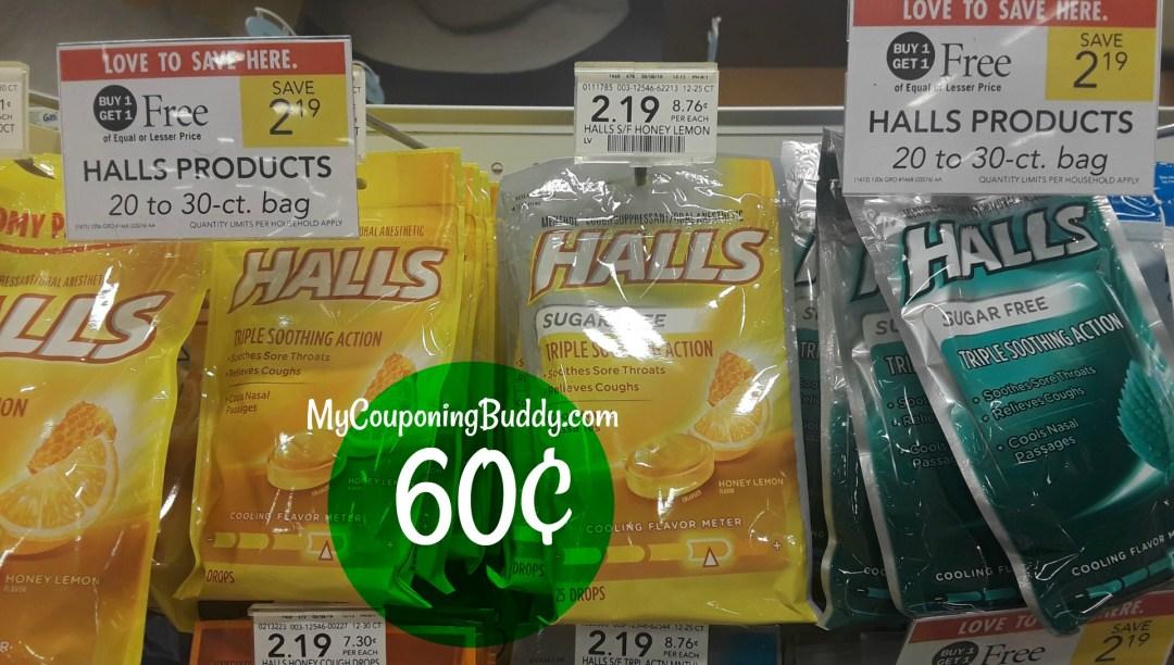 Hall Cough Drops Publix