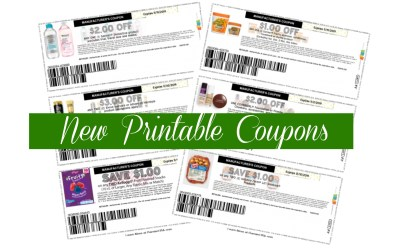 New Printable Coupons ~ Garnier, Hillshire Farms, Kellogg's, L'oreal & more