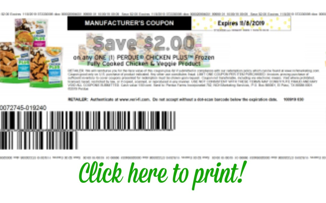 High Value Perdue Chicken Printable Coupon