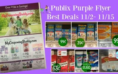 Publix Purple Flyer Best Coupon Deals 11/2 – 11/15