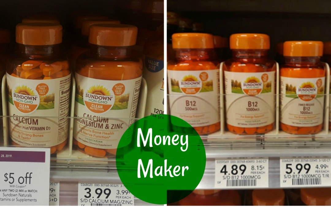 New Coupon: MONEYMAKER On Sundown Vitamins at Publix