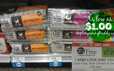 I and Love You Cat Food as low as $1 at Publix