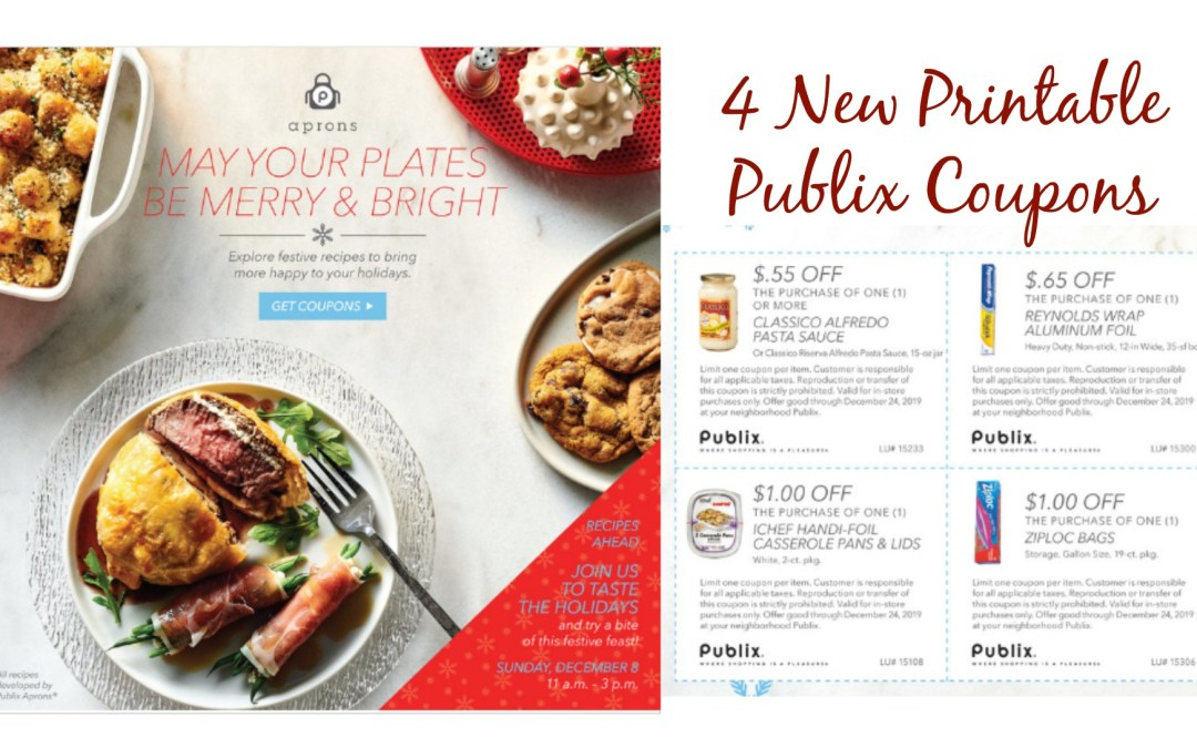 May Your Plates Be Merry & Bright Publix Coupon Book 11/29 – 12/24
