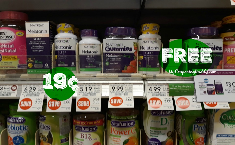 Purple Flyer 12/28 – 1/10/2020 Natrol Melatonin FREE at Publix