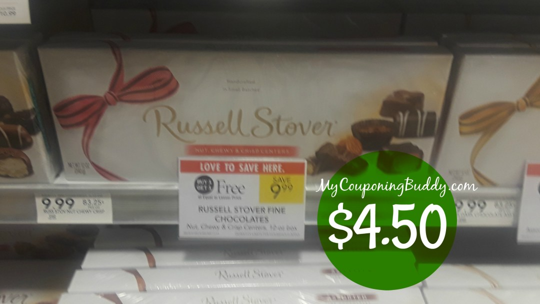 Russell Stover Chocolate Boxes Publix Couponing