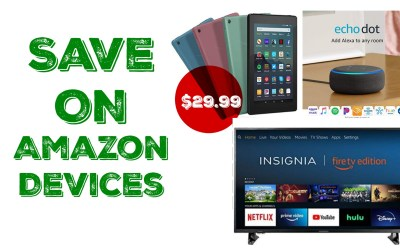 Save Over 40% on Amazon Devices!