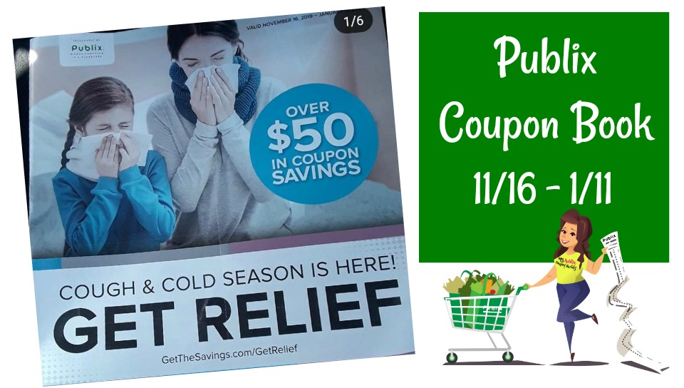 "Publix Coupon Book "" Get Relief "" Full Matchups & Scan valid 11/16 – 1/11"