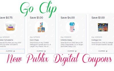New Publix Digital Coupons to Clip