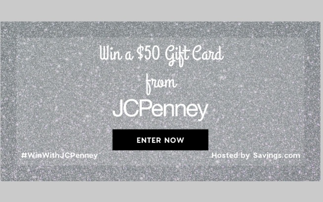 JCP Giftcard giveaway