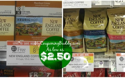 New England Coffee as low as $2.50 at Publix