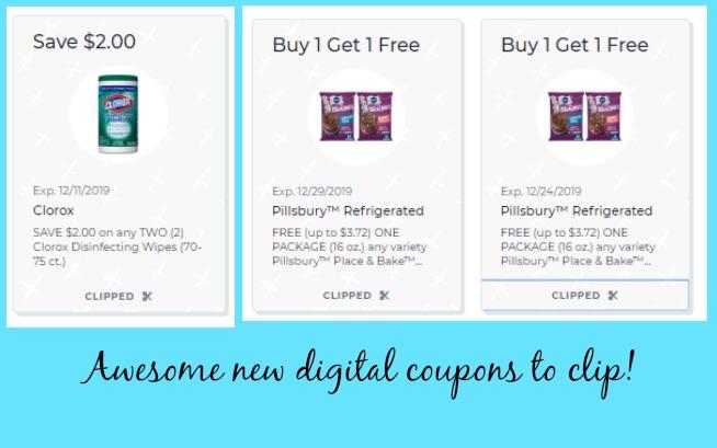 New Publix Digital Coupons BOGO Pillsbury