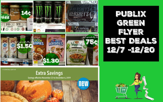 Publix Green Flyer 12-7 - 12-20 Best Couponing Deals