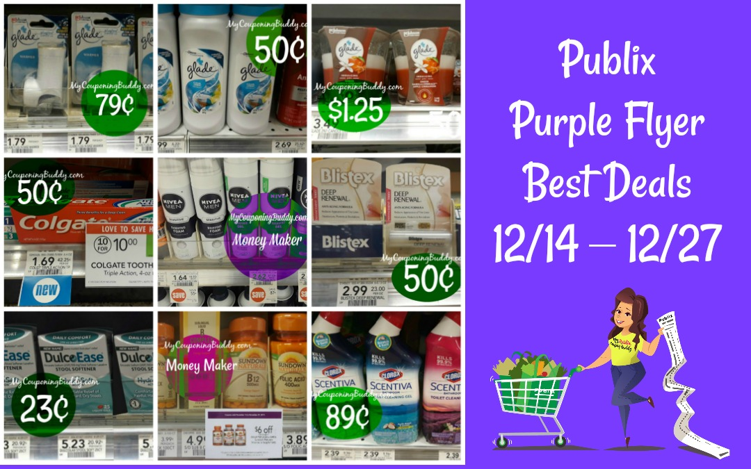 Publix Purple Flyer Best Deals 12/14 – 12/27