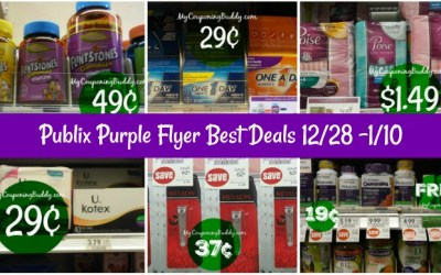 Publix Purple Flyer Best Deals 12/28 -1/10