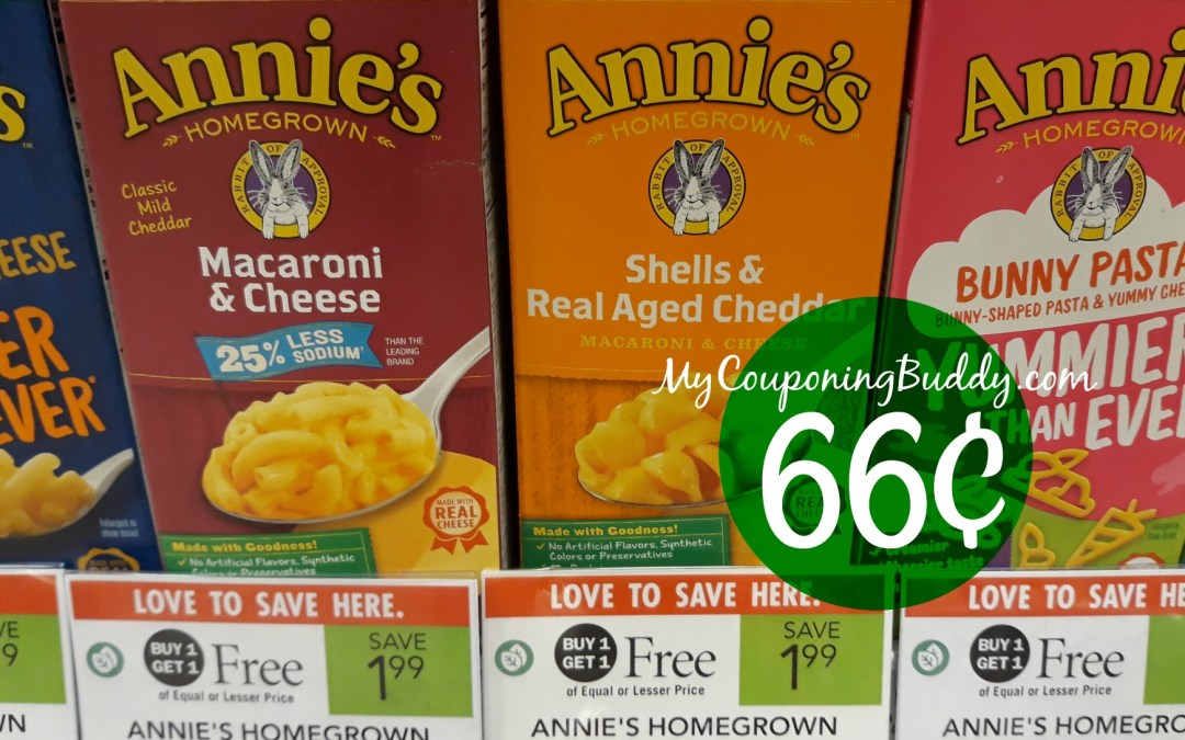 Publix Weekly Sale 1/8/20 – 1/14/20 or 1/9/20 – 1/15/20 Annie's Mac & Cheese at Publix