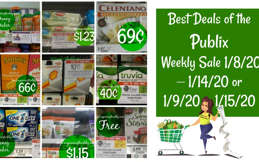 Publix Weekly Sale 1/8/20 – 1/14/20 or 1/9/20 – 1/15/20