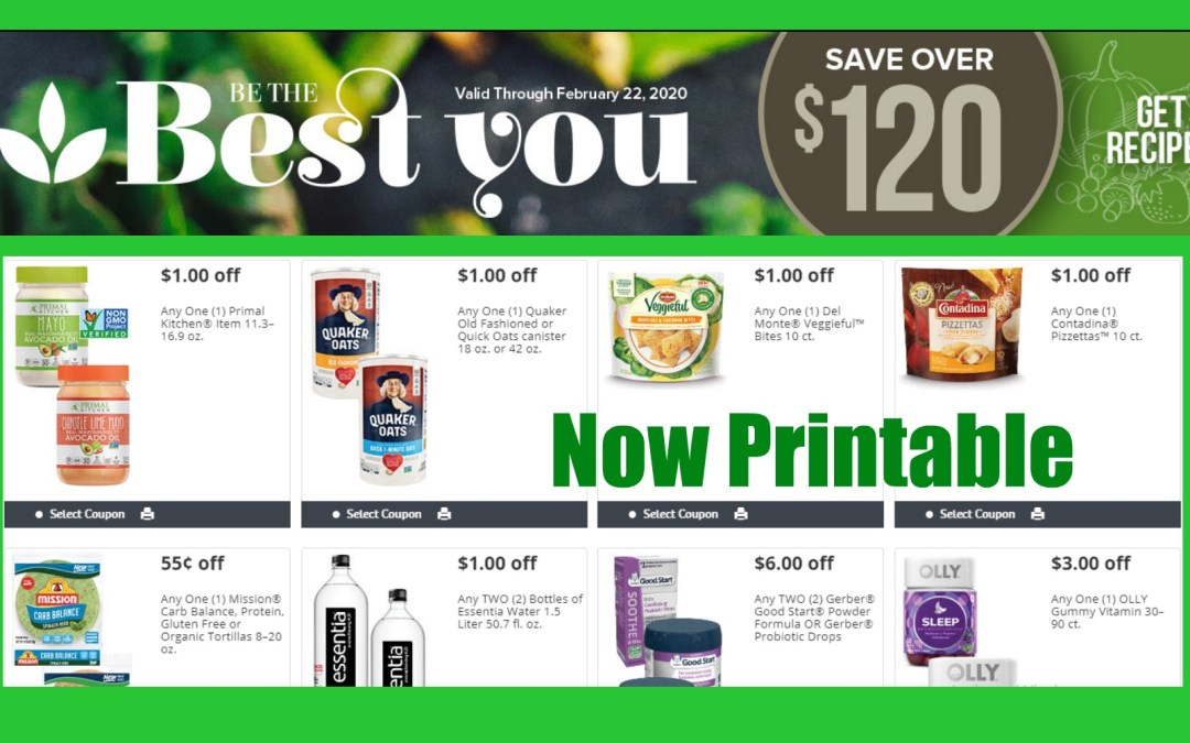 Publix Best You Book Now Printable