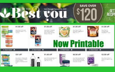 Publix Be the Best You Coupon Book Matchups ( valid 1/25 – 2/22)