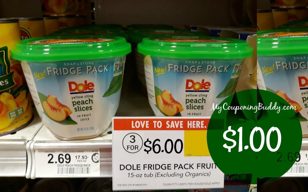 Dole Fridge Pack $1 at Publix