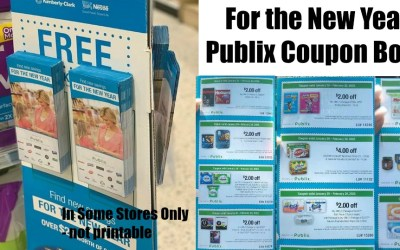 For the New Year March of Dimes Publix Coupon Book valid 1/20 – 2/20