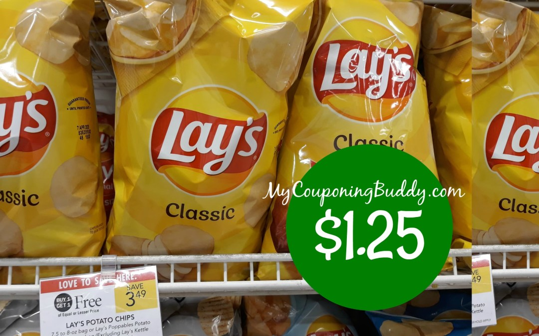 Lays Classic Chips Publix couponing
