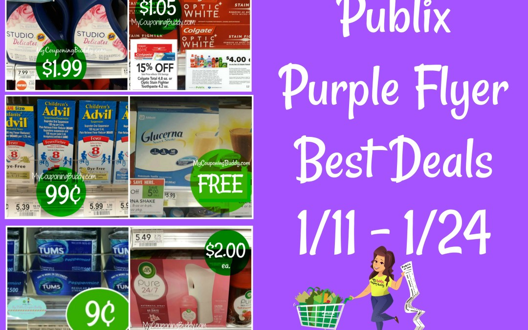 Publix Purple Flyer 1-11 to 1-24