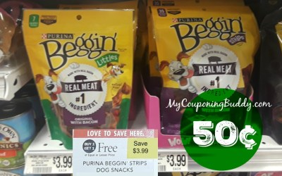 Purina Beggin Strips as low as 50¢ at Publix