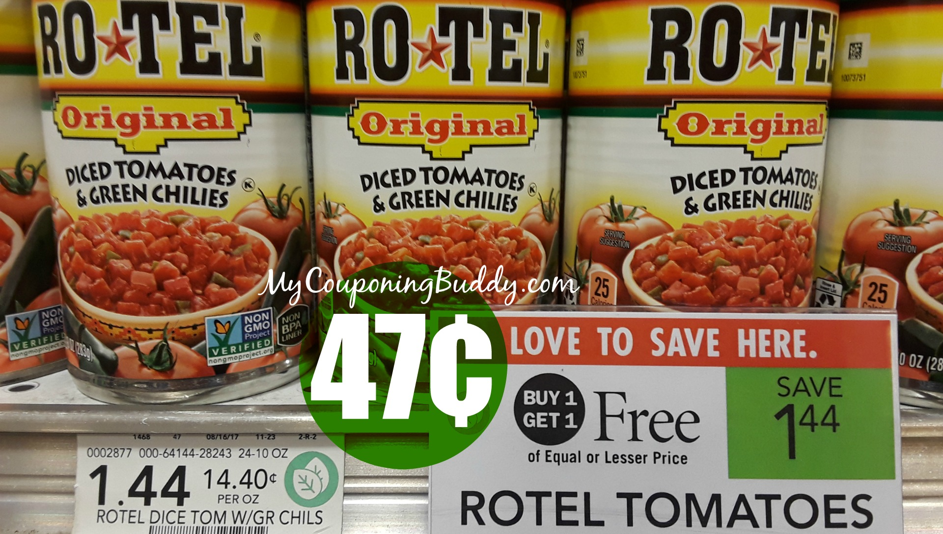 Rotel Tomatoes 47 At Publix My Publix Coupon Buddy