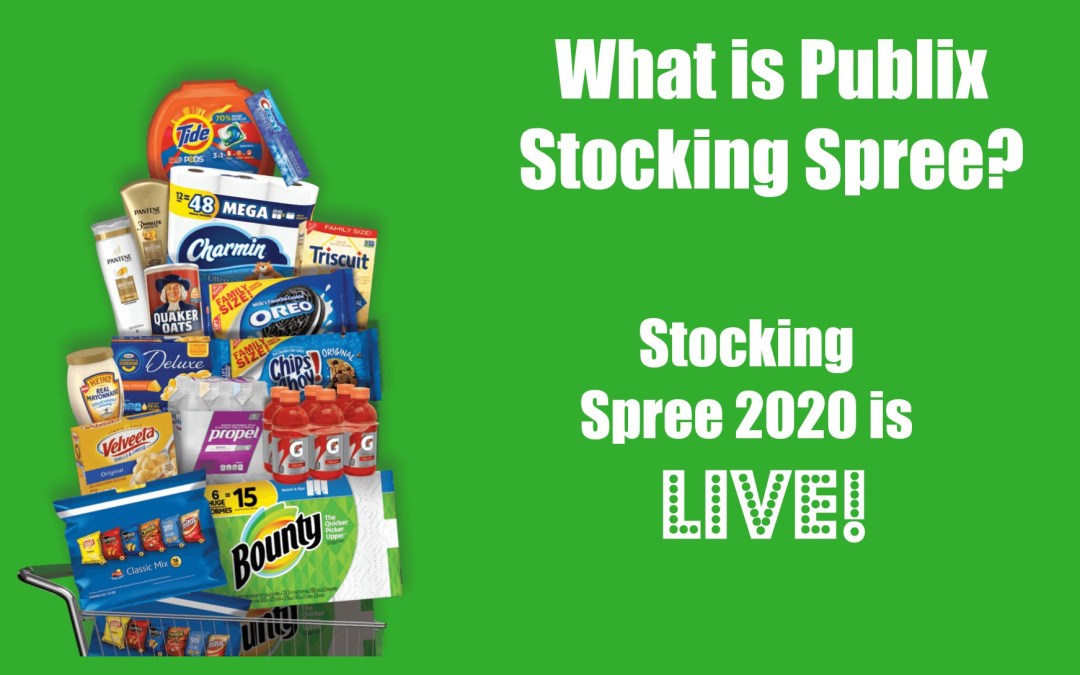 Stocking Spree 365 2020 is Live Publix