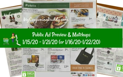 Publix Ad Preview 1/15/20 – 1/21/20 (or 1/16/20-1/22/20)