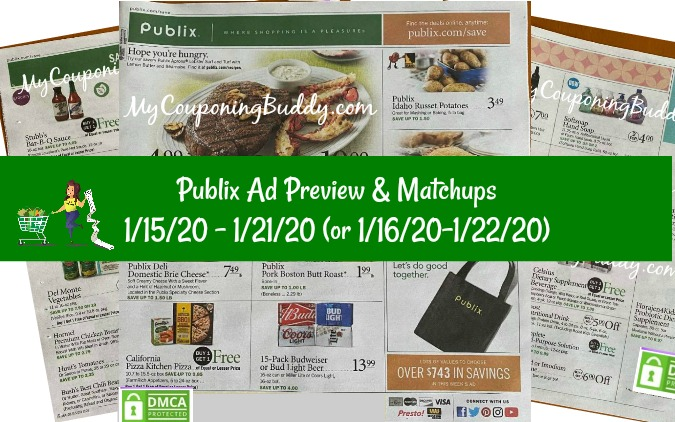 Publix Ad Preview 1/15/20 - 1/21/20 (or 1/16/20-1/22/20)