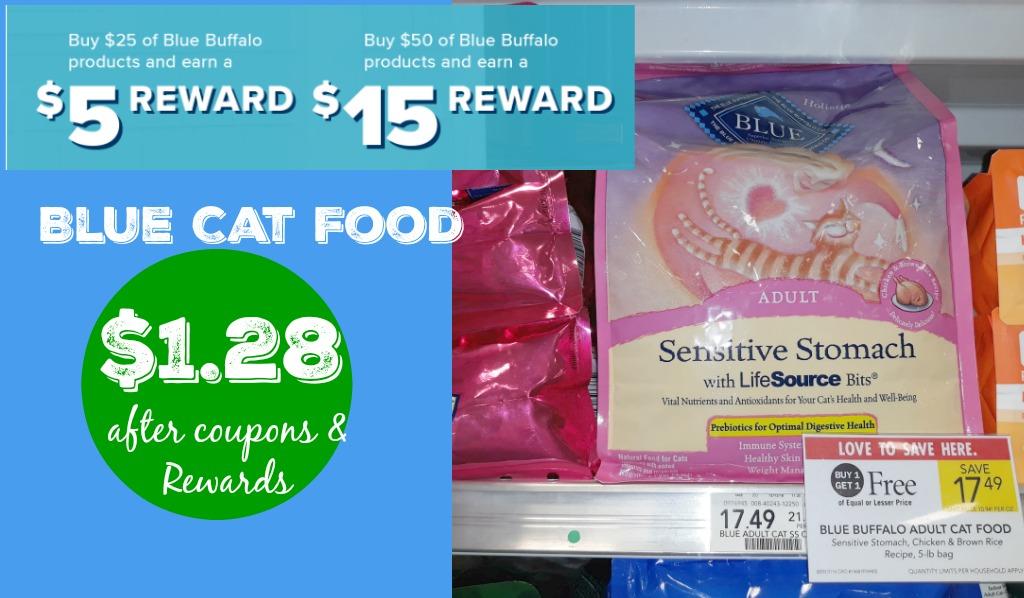 blue cat food rewards publix