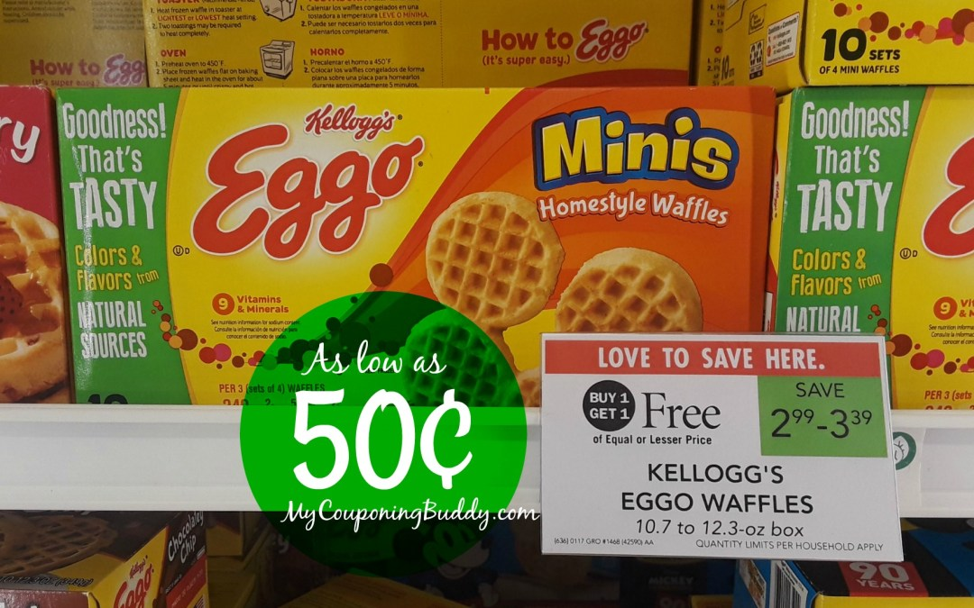 Eggo waffles 50¢ at Publix Publix Ad Preview Weekly Sale 1/15/20 - 1/21/20 (or 1/16/20-1/22/20)
