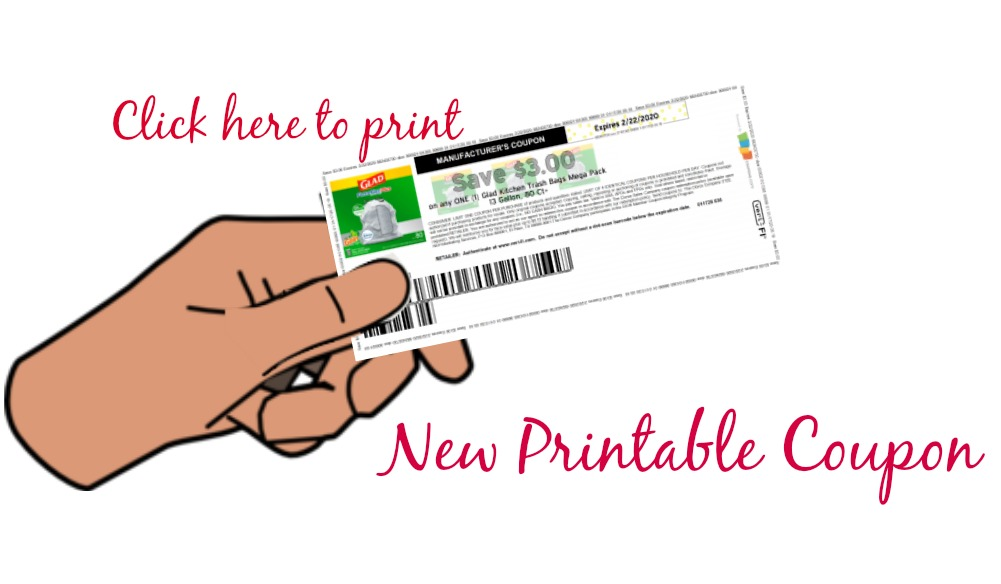 glad printable coupon