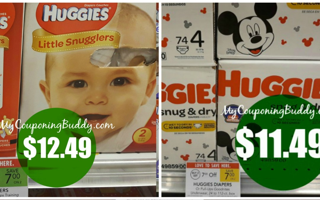 Huggies Boxed Diapers Publix Couponing Deal