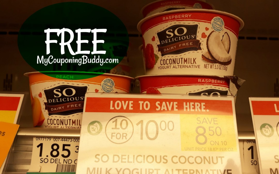 So Delicious Yogurt Alternative Cup FREE at Publix
