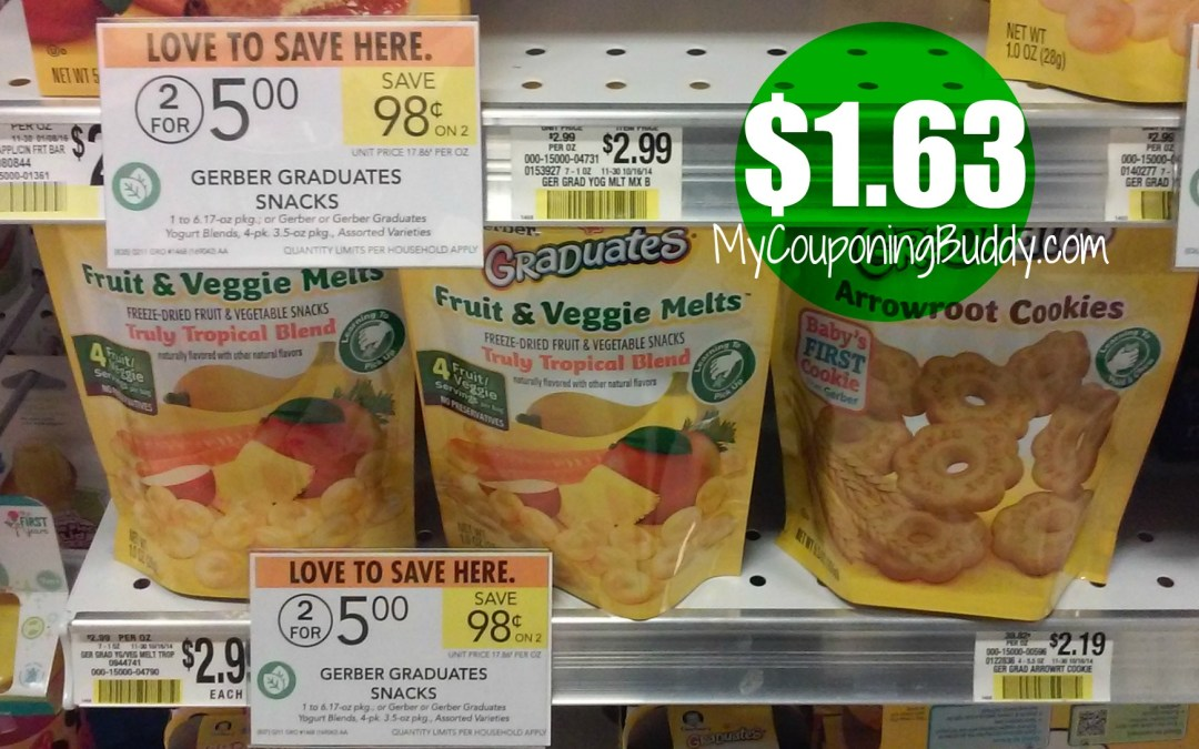 Gerber Yogurt Melts Publix
