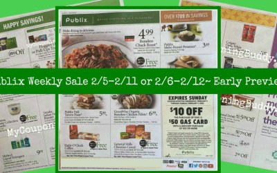 Publix Weekly Ad 2/5-2/11 or 2/6-2/12~  Early Ad Preview