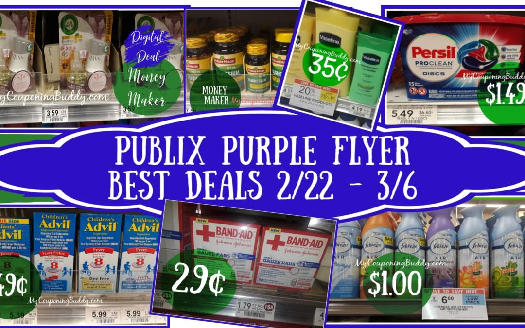Publix Purple FlyerBest Deals 2/22 – 3/6