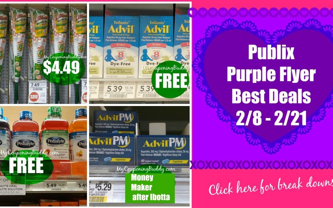Publix Purple Flyer Deals 2/8 -2/21