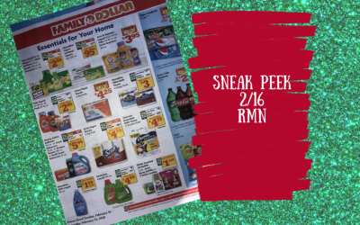 Sunday Coupon Insert Sneak Peek 2/16/20